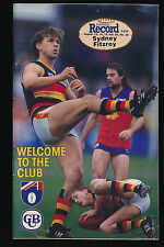 1993 AFL Football Record  Sydney Swans vs Fitzroy Lions August 13 14 15