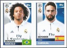 TOPPS CHAMPIONS LEAGUE-2016-17- #REA06-07-REAL MADRID-DANI CARVAJAL / MARCELO