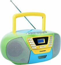 Blaupunkt CD Player Radio Kassetten Rekorder Bluetooth USB AUX Boombox Tragbar