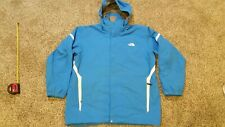 Mens North Face Winter Snow Shell Jacket Blue/White Skiing Snowboarding 2XL NICE