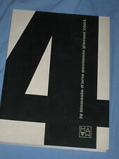 IV BIENNALE D' ARTE POSTUMIA GIOVANI 2004 catalogo mostra Gazoldo Ippoliti (H5)