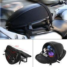 Waterproof Motorcycle Bike Sport Back Seat Carry Bag Luggage Tail Bag Saddlebag