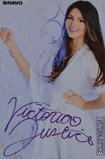 VICTORIA JUSTICE - Autogrammkarte - Signed Autograph Autogramm Clippings