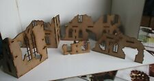 28mm Gothic fantasy 40k historical  ruins set 3 (5 ruins in all) Scenery buildin