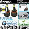 FIZZMO XENON WHITE H8 LED BMW ANGEL EYE BULB X5 X5M E70 X6 X6M E71 E72 Z4 E89