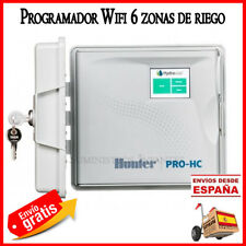 Programador Wifi Hunter HC HYDRAWISE 6 Zonas Exterior. Control riego online wifi