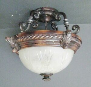 Hampton Bay 2-Bulb Ceiling Light Fixture 445994