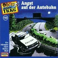"TKKG ""ANGST AUF DER AUTOBAHN (FOLGE 102)"" CD HÖRBUCH NEUWARE"