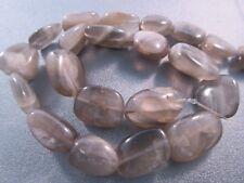 Grey Moonstone Nuggets Beads 21pcs
