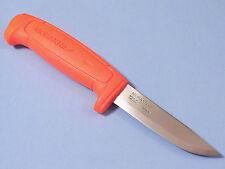 """MORA 12811 MORAKNIV Basic 511 Orange carbon steel knife 8 1/8"""" overall 01832 NEW"""