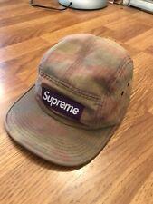 6f19ca9f7e5 camo supreme five panel hat camp cap 2012 100% AUTHENTIC