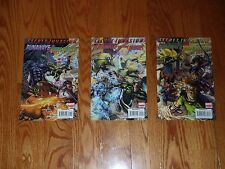 Lot of 3 SECRET INVASION, RUNAWAYS/YOUNG AVENGERS Marvel Comic Books #s 1 2 3
