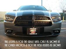 MOPAR Dodge Charger Matte Black RT Grille Daytona R/T Grill 2011 2012 2013 2014