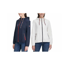 Tommy Hilfiger Womens Lightweight Windbreaker Jackets...