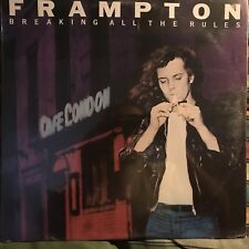 FRAMPTON • Breaking All The Rules • Vinile Lp • Nuovo Sigillato