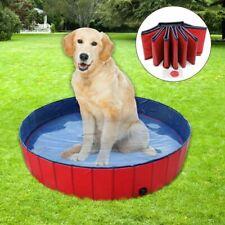 Professionale Piscina per Cani Doggy Pool Φ160 X 30H (CM) Rosso 600L