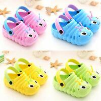 Summer Toddler Baby Boys Girls Cute Cartoon Beach Sandals Slippers Flip Shoes fe