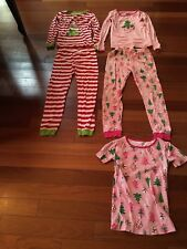 Two pair of Girls Children's Place Christmas PJ - Size 12