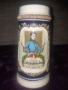 ☢☢Reservistenkrug Tirol Österreich Major Soldatenkrug Armeekrug Bierkrug Major
