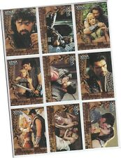 "Xena The Warrior Princess Season 6 - 9 Card ""God Of War"" Chase Set GW1-GW9"