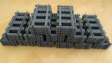 Lego City Eisenbahn 50 Stück gerade RC Schienen 60197 60198