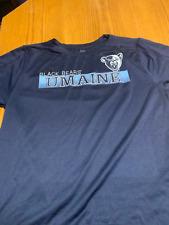 Men's Large Maine Black Bears Dri-Fit Shirt