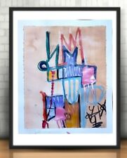 EXPRESSIONISM ABSTRACT ORINGIAL ART PAINTING ACRYLIC WALL ART MODERN DECOR ART