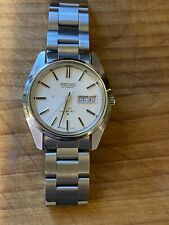 SEIKO King Seiko 5626-7000 Day date Silver Dial Automatic Men Serviced