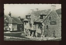 Dorset CORFE CASTLE Bankers Arms Hotel Strong & Co Romsey c1950/60s? RP PPC