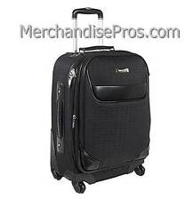 """WOMEN'S ANNE KLEIN 20"""" EXPANDABLE CARRY-ON BUSINESS LUGGAGE SPINNER UPRIGHT NEW!"""
