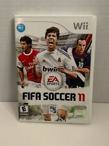 FIFA Soccer 11 (Nintendo Wii, 2010) Complete with Case + Manual