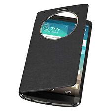 Slim Quick Circle Window Leather Flip Case Skins Hülle for LG G3 D850 D855 VS985