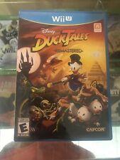DuckTales: Remastered (Nintendo Wii U, 2013) Disneys WiiU TESTED RARE SHIPS FREE
