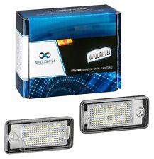 Premium LED Kennzeichenbeleuchtung für Audi Q7 A4 B6 B7 8E A6 4F C6 A3 8P KB24