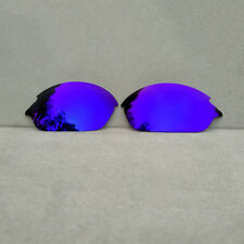 Purple Mirrored Replacement Lenses for-Oakley Romeo 2 Sunglasses Polarized