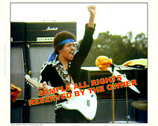 JIMI HENDRIX PHOTO AMAZING FIST IN AIR PHOTOGRAPH  ONE IN STOCK 8 X 10