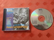 JAZZ GREATS Louis Arsmtrong  CD album A1 condition 1st class post 1 day dispatch