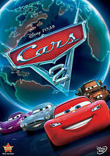 Disney Pixar CARS 2 (DVD, 2011) - One owner - Case + Slipcover - A+ Condition