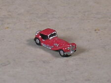 Z Scale Red 1948 Duisenberg Car