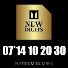 GOLD EXCLUSIVE VIP PLATINUM BUSINESS MOBILE PHONE NUMBER SIM CARD 10 20 30