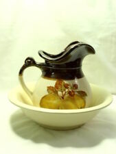 McCoy Fruit Festival #7515 Large Pticher and Bowl Set