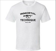 IMMORTAL TECHNIQUE T-Shirt Funny Birthday Cotton Tee Vintage Gift For Men Women