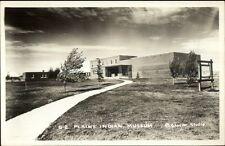 Montana - Plains Indian Museum Real Photo Postcard