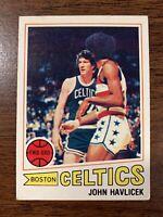 JOHN HAVLICEK 1977-78 Topps #70 Boston Celtics
