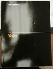 Yale Parts Manual for Models ERC 040-060 RA/ZA 1513 2/93