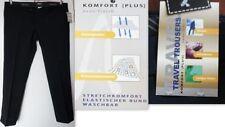 Pantaloni da uomo blu regolare in lana