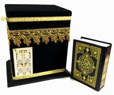 Petit Kaaba Mecque + Coran Musulman Hijab Caftan Islam Allah Khimar Takschita