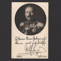 GERMANY 1914, Red Cross Issue, inscr. 'German War Card 1914', Kaiser Wilhelm II