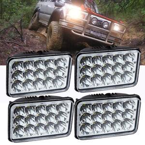 LED Total 180w 4x6 inch For FJ80 FZJ80 HZJ80 Toyota Landcruiser 62 80 series