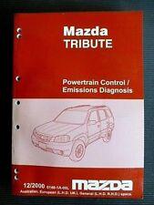 """MAZDA """" TRIBUTE """" 12.2000 GENUINE Factory SERVICE / REPAIR MANUAL"""